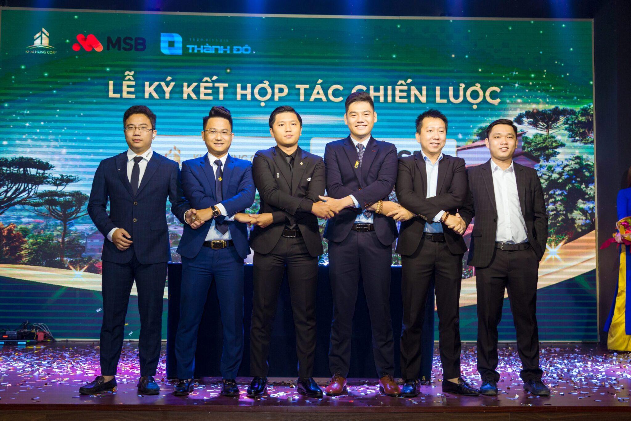 Khải Hưng Corp và MSB ký kết hợp tác chiến lược